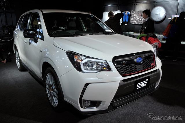 Subaru Forester tS (2015 Tokyo Auto Salon)