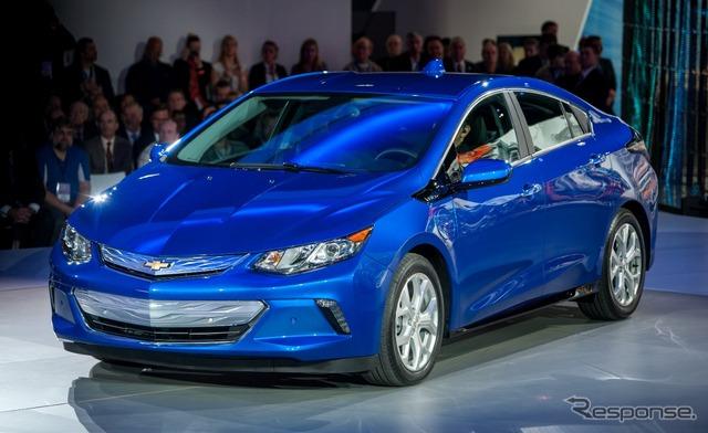 New Chevrolet Volt (Detroit Motor Show 15)