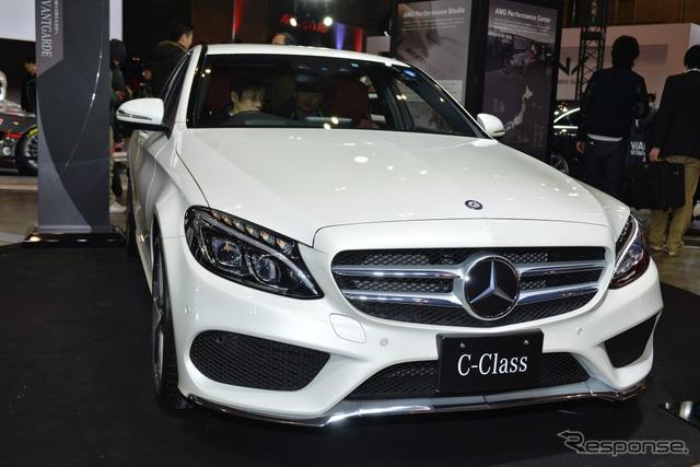 Mercedes-Benz C180 Avantgarde (Tokyo Auto Salon 2015)