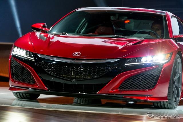 New Honda NSX (2015 Detroit Auto Show)