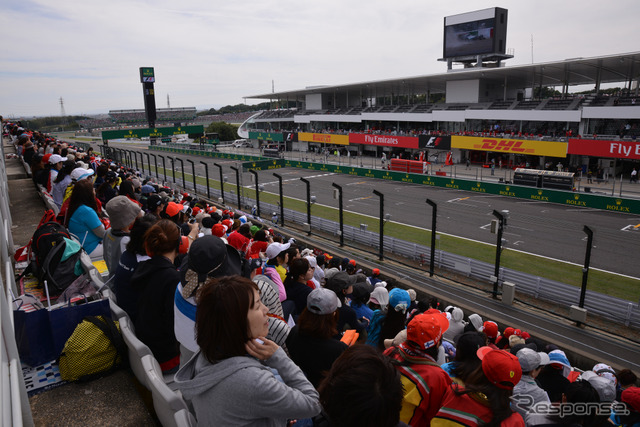Aspects of women's seats (2014F1 Japan GP)
