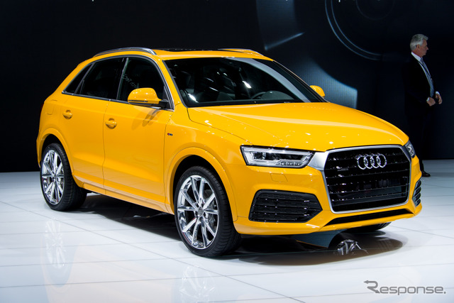 Audi Q3 improved new (Detroit Motor Show 15)