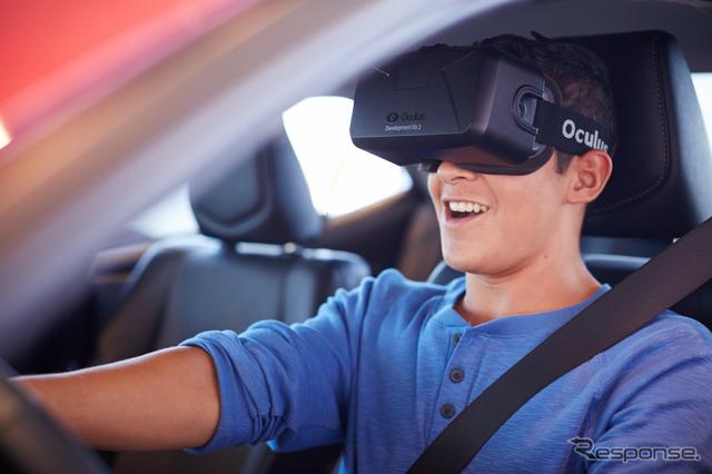 Toyota's 3D Driving Simulator