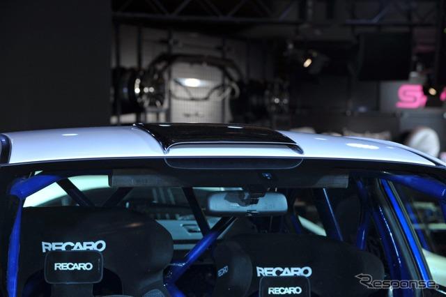 Subaru WRX STI national rally scheduled vehicle (Tokyo Auto Salon 15)