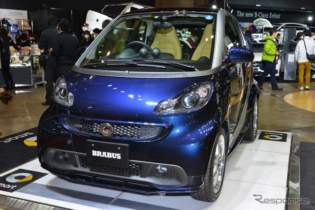 Smart Fortwo Coupe Brabus exclusive Edition Midnight Blue (Tokyo Auto Salon 15)