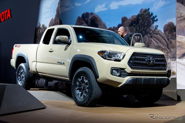 Toyota Tacoma TRD Off-Road (2015 Detroit Auto Show)