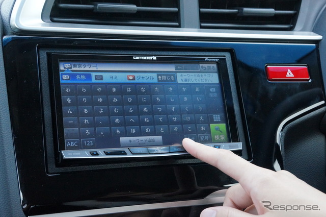 Car navigation systems (reference image)