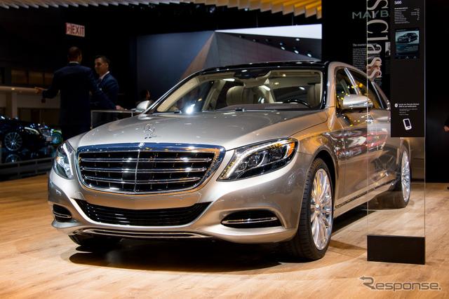 Mercedes - Maybach S600 (Detroit Motor Show 15)