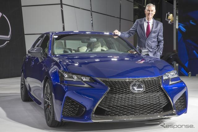 Lexus GS F (2015 Detroit Auto Show)