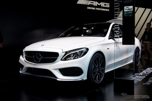 Mercedes-Benz C450 AMG sport 4MATIC (Detroit Motor Show 15)