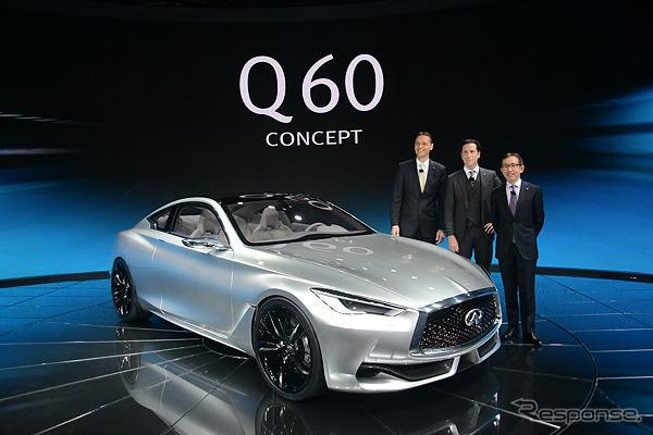 Infiniti Q60 concept (Detroit Motor Show 15)