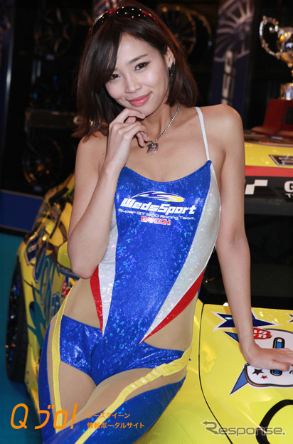 """Tokyo Auto Salon by 2015 """"Weds Sport' booth"""