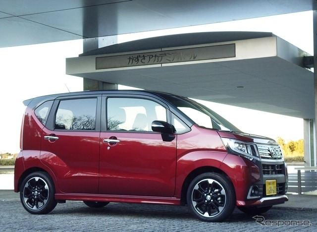 Daihatsu move custom RS hyper