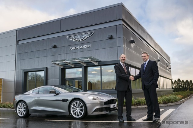 A new vehicle development facility Aston Martin was opened in the United Kingdom