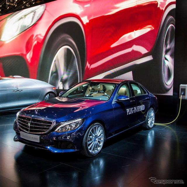 Mercedes-Benz C350 plug-in hybrid (Detroit Motor Show 15)