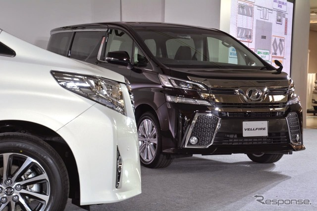 Toyota alphard / vellfire new announcement