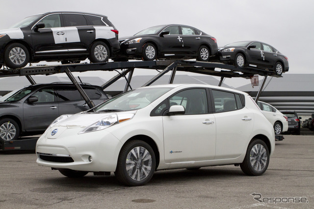 Now and 1 million second cumulative exports from the United States of the Nissan leaf