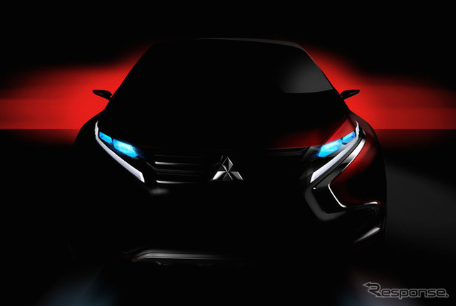 Mitsubishi Motors premiered compact SUV concept car