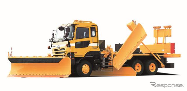 UD trucks and large trucks kuon dedicated snow car