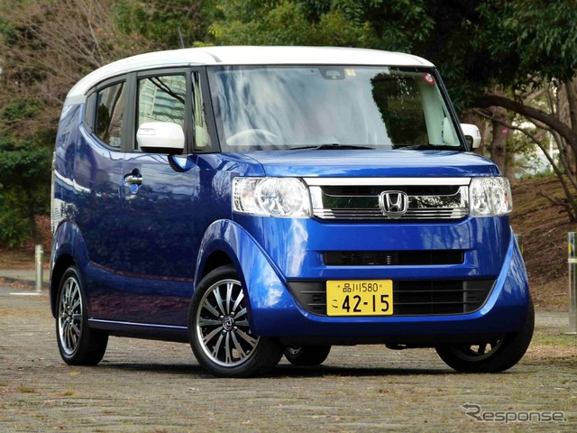 [Honda N-BOX slash test] adults and some nice cars. Introduced in Europe
