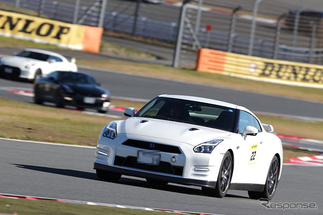 GT-r ( R35 ) driving lessons