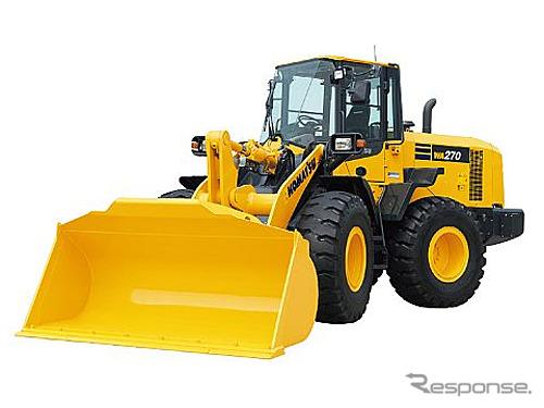 Komatsu, new wheel loader WA270-7 (reference image)