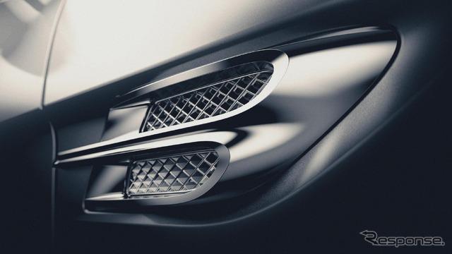 """Bentley SUV, """"BENTAYGA"""" notice image"""