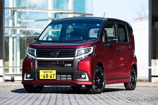 Daihatsu move custom RS hyper