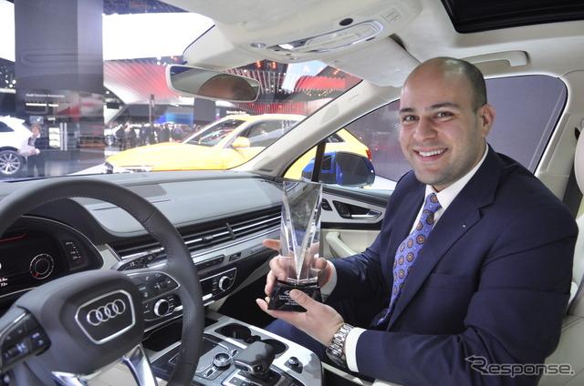 New Audi Q7 (Detroit Motor Show 15) was named best design Interior