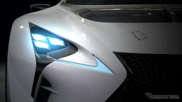 Lexus LF-LC GT vision Gran Turismo notice image