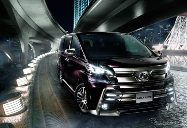 Toyota vellfire new sale shop options