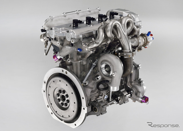 1.6 liter direct-injection turbo engine.