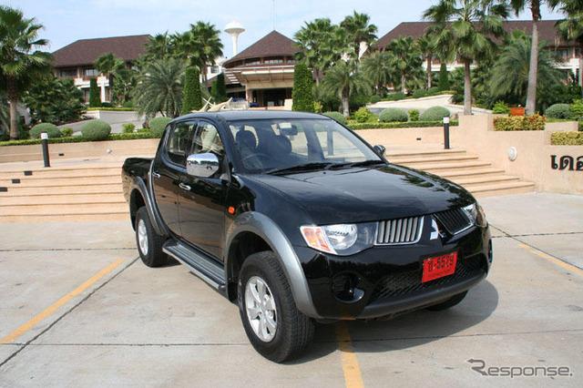 [Mitsubishi Triton ออก] ประเทศไทยในญี่ปุ่นในปีนี้ที่นำมาใช้เพื่อผลิตรถยนต์ของโลก