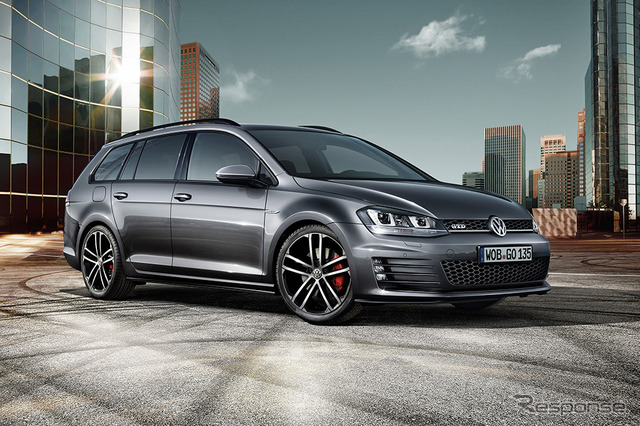 New Volkswagen Golf variant GTD