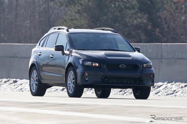 Exclusive photo of Subaru's mysterious prototype