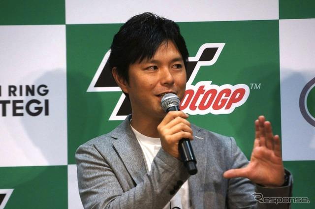 Mr. Shinya Nakano (Moto GP Japan Grand Prix PR events)