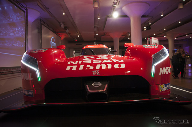 Nissan GT-R LM NISMO (2015 Chicago Auto Show)