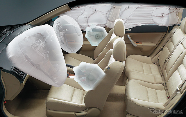 Honda Accord has been targeted airbag recall of the TAKATA