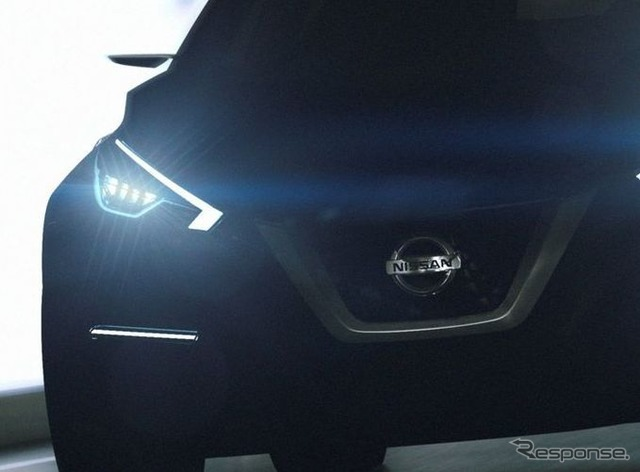Teaser image of the Nissan Sway