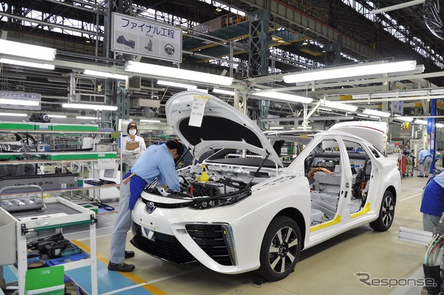 Toyota Mirai Production Line