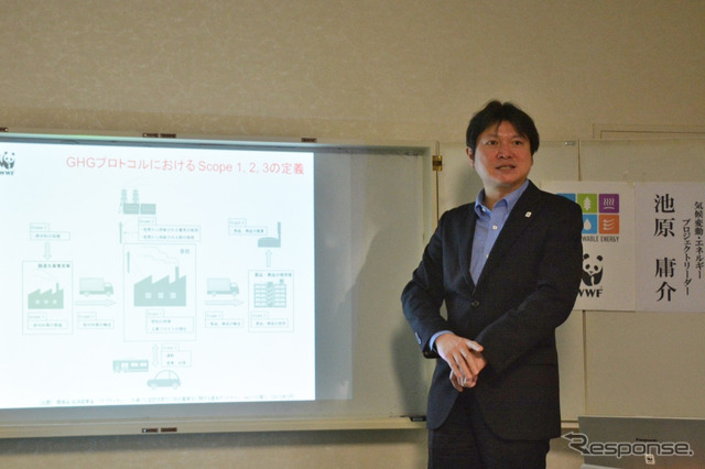 Mr. Ikehara Yosuke WWF Japan nature protection office climate change and energy group project leader