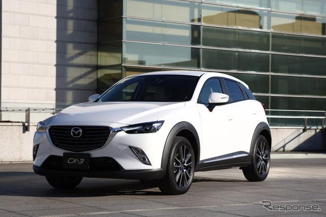 Mazda CX-3 prototype