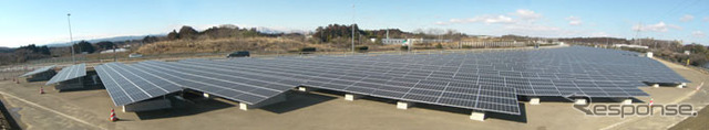 Sendai Izumi solar power plant