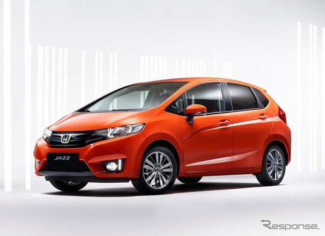 The all-new Honda Jazz (the Fit, in Japan) production model