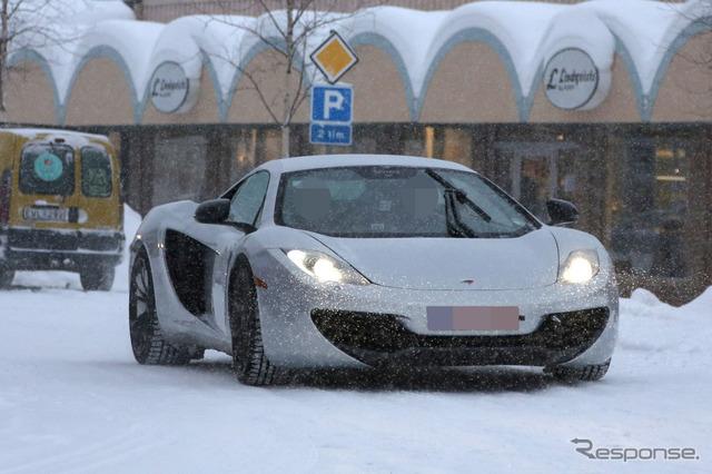 McLaren prototype car scoop photos