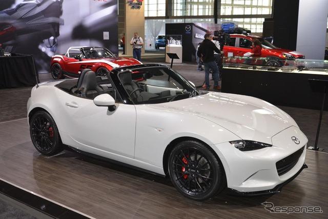 Mazda MX-5 (Roadster) Accessories Design Concept (2015 Chicago Auto Show)