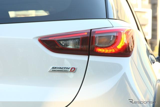 Mazda CX-3 prototype (XD touring)