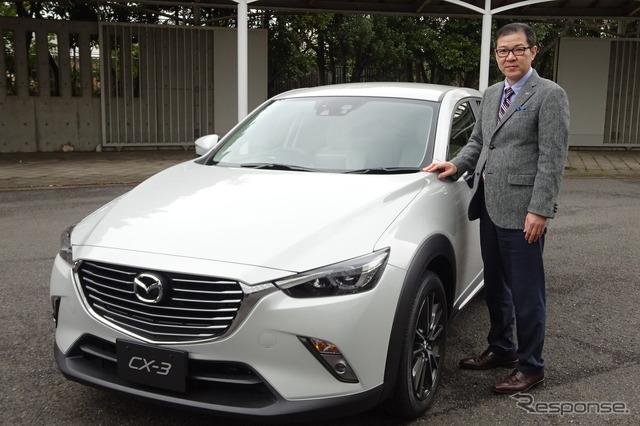 Mazda CX-3 Chief Developer Michio Tomiyama