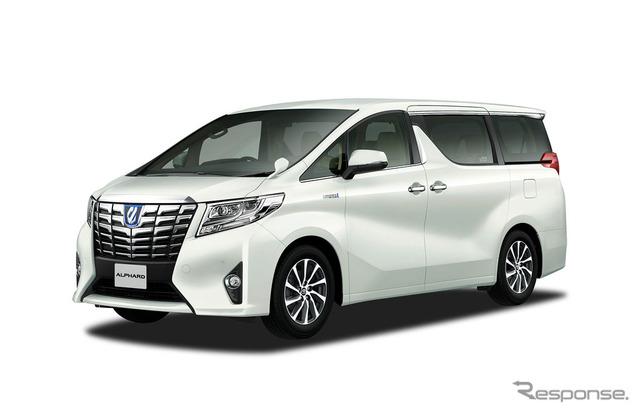 Toyota Alphard G F Package (Hybrid)