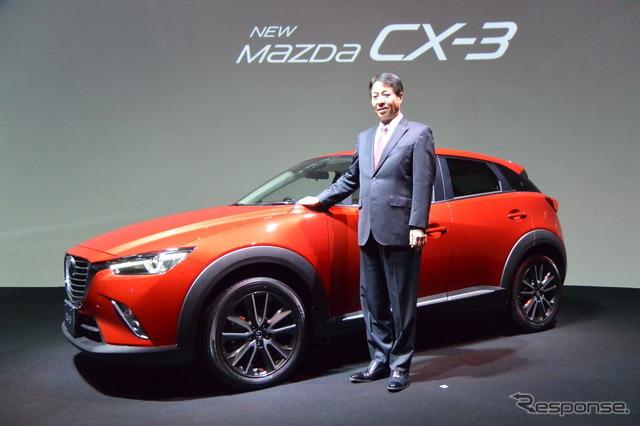 Mazda CX-3 launch meeting